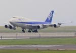 ふじいあきらさんが、羽田空港で撮影した全日空 747-481(D)の航空フォト(飛行機 写真・画像)