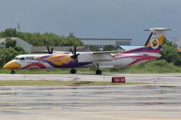 kinsanさんが、ランパーン空港で撮影したノックエア DHC-8-402Q Dash 8の航空フォト(飛行機 写真・画像)