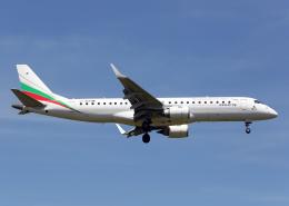 Bokuranさんが、チューリッヒ空港で撮影したブルガリア航空 ERJ-190-100 IGW (ERJ-190AR)の航空フォト(飛行機 写真・画像)