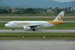 DXだいこんさんが、ノイバイ国際空港で撮影したゴールデン・ミャンマー・エアラインズ A320-232の航空フォト(写真)
