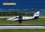 じーく。さんが、那覇空港で撮影した第一航空 DHC-6-400 Twin Otterの航空フォト(飛行機 写真・画像)