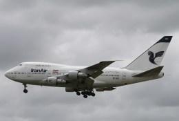 BTYUTAさんが、成田国際空港で撮影したイラン航空 747SP-86の航空フォト(写真)