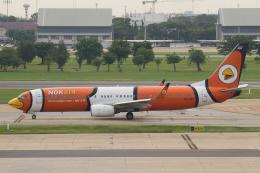 よっしぃさんが、ドンムアン空港で撮影したノックエア 737-83Nの航空フォト(飛行機 写真・画像)