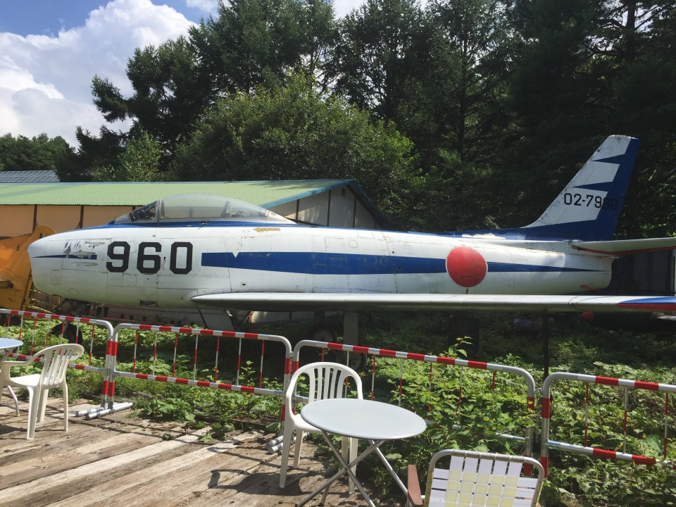 りんたろうさんの航空自衛隊 Mitsubishi F-86 Sabre  (02-7962) 航空フォト