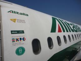 napoliさんが、ナポリ・カポディキーノ国際空港で撮影したアリタリア航空 A320-216の航空フォト(飛行機 写真・画像)