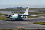○○●●さんが、関西国際空港で撮影したアルジェリア空軍 Il-76TDの航空フォト(写真)