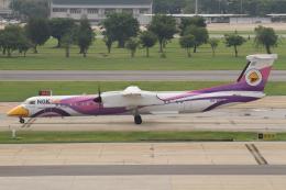 よっしぃさんが、ドンムアン空港で撮影したノックエア DHC-8-402Q Dash 8の航空フォト(飛行機 写真・画像)