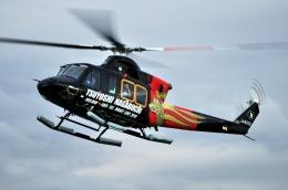 へりさんが、東京ヘリポートで撮影した朝日航洋 412EPの航空フォト(写真)