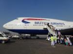 Jack catcherさんが、カイロ国際空港で撮影したブリティッシュ・エアウェイズ 747-436の航空フォト(写真)