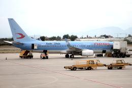 gomaさんが、ヴェローナ空港で撮影したネオス 737-86Nの航空フォト(飛行機 写真・画像)