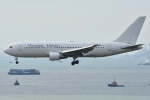 ぶる~すかい。さんが、香港国際空港で撮影したダイナミック・エアウェイズ 767-233の航空フォト(写真)