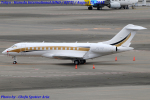 Chofu Spotter Ariaさんが、羽田空港で撮影した南アフリカ企業所有 BD-700-1A10 Global 6000の航空フォト(飛行機 写真・画像)