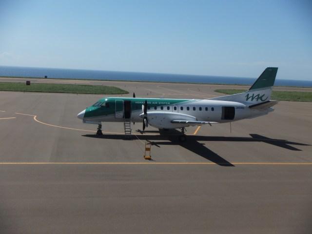 北海道エアシステム Saab 340 JA...