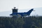 tsubasa0624さんが、千歳基地で撮影した航空自衛隊 U-125A(Hawker 800)の航空フォト(飛行機 写真・画像)