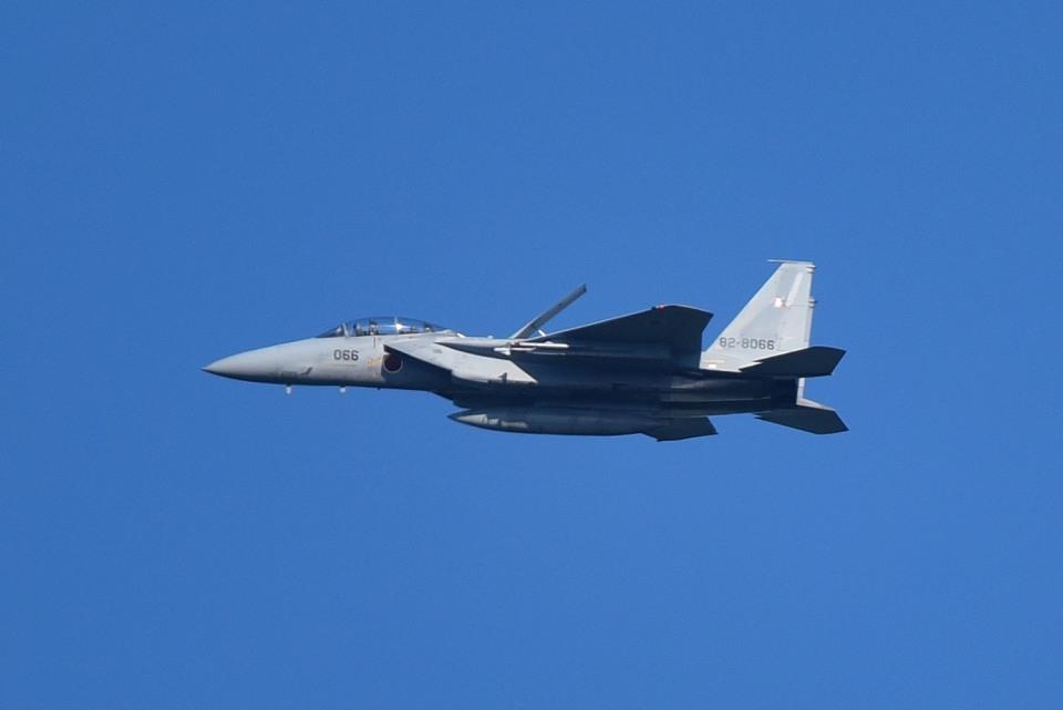 tsubasa0624さんの航空自衛隊 Mitsubishi F-15DJ Eagle (82-8066) 航空フォト