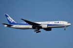 tsubasa0624さんが、新千歳空港で撮影した全日空 777-281の航空フォト(飛行機 写真・画像)