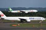 tsubasa0624さんが、新千歳空港で撮影したエバー航空 777-35E/ERの航空フォト(飛行機 写真・画像)