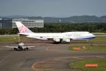 tsubasa0624さんが、新千歳空港で撮影したチャイナエアライン 747-409の航空フォト(飛行機 写真・画像)