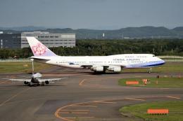 tsubasa0624さんが、新千歳空港で撮影したチャイナエアライン 747-409の航空フォト(写真)