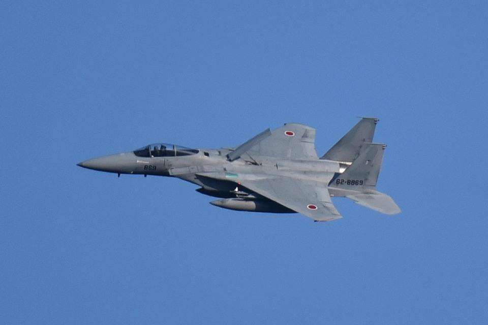 tsubasa0624さんの航空自衛隊 Mitsubishi F-15J Eagle (62-8869) 航空フォト