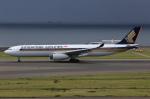 T.Sazenさんが、中部国際空港で撮影したシンガポール航空 A330-343Xの航空フォト(飛行機 写真・画像)