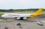 ハピネスさんが、成田国際空港で撮影したエアー・ホンコン 747-444(BCF)の航空フォト(飛行機 写真・画像)