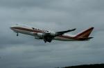 北の熊さんが、千歳基地で撮影したカリッタ エア 747-4HQF/ERの航空フォト(写真)