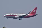 Korean Air KEさんが、香港国際空港で撮影した上海航空 737-76Dの航空フォト(写真)