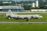うめやしきさんが、嘉手納飛行場で撮影したアメリカ海軍 P-3C AIPの航空フォト(飛行機 写真・画像)
