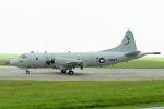 うめやしきさんが、嘉手納飛行場で撮影したアメリカ海軍 P-3C AIPの航空フォト(写真)