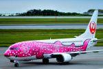 うめやしきさんが、那覇空港で撮影した日本トランスオーシャン航空 737-446の航空フォト(飛行機 写真・画像)