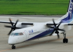 じーく。さんが、新潟空港で撮影したANAウイングス DHC-8-402Q Dash 8の航空フォト(飛行機 写真・画像)