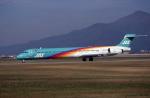 kumagorouさんが、山形空港で撮影した日本エアシステム MD-90-30の航空フォト(写真)