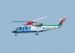 じーく。さんが、新潟空港で撮影した新潟県消防防災航空隊 S-76Bの航空フォト(飛行機 写真・画像)