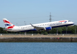 Bokuranさんが、ロンドン・シティ空港で撮影したBAシティフライヤー ERJ-190-100 SR (ERJ-190SR)の航空フォト(写真)