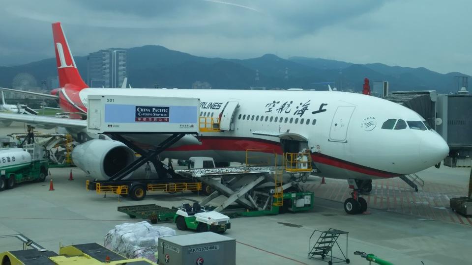 AIR JAPONさんの上海航空 Airbus A330-300 (B-6127) 航空フォト