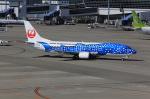 T.Sazenさんが、中部国際空港で撮影した日本トランスオーシャン航空 737-4Q3の航空フォト(飛行機 写真・画像)