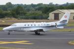 Tomo-Papaさんが、フェアフォード空軍基地で撮影したスイス空軍 560XL Citation Excelの航空フォト(写真)
