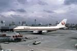 Gambardierさんが、伊丹空港で撮影した日本航空 747-246Fの航空フォト(写真)