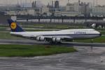 マルさんが、羽田空港で撮影したルフトハンザドイツ航空 747-830の航空フォト(写真)