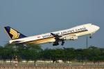 RUSSIANSKIさんが、シンガポール・チャンギ国際空港で撮影したシンガポール航空カーゴ 747-412F/SCDの航空フォト(飛行機 写真・画像)
