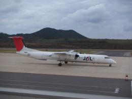ピーノックさんが、隠岐空港で撮影した日本エアコミューター DHC-8-402Q Dash 8の航空フォト(飛行機 写真・画像)