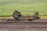 アイスコーヒーさんが、東富士演習場で撮影した陸上自衛隊 CH-47Jの航空フォト(写真)