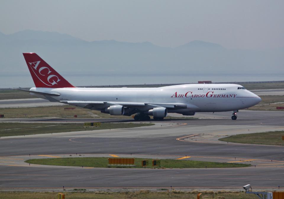 PGM200さんのエア・カーゴ・ジャーマニー Boeing 747-400 (D-ACGD) 航空フォト