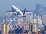 sunshy0621さんが、大連周水子国際空港で撮影した全日空 767-381/ER(BCF)の航空フォト(写真)
