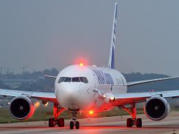 sunshy0621さんが、大連周水子国際空港で撮影した全日空 767-316F/ERの航空フォト(飛行機 写真・画像)