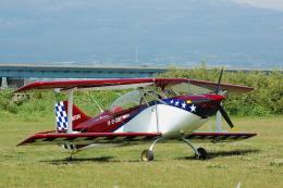 なまくら はげるさんが、富士川滑空場で撮影した日本個人所有 Pittsの航空フォト(写真)