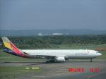 鬼の手さんが、新千歳空港で撮影したアシアナ航空 A330-323Xの航空フォト(写真)