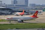 T.Sazenさんが、関西国際空港で撮影した天津航空 A320-232の航空フォト(飛行機 写真・画像)