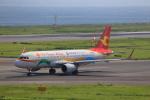 T.Sazenさんが、関西国際空港で撮影した天津航空 A320-214の航空フォト(飛行機 写真・画像)